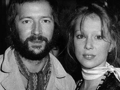 Eric Clapton et Pattie Boyd