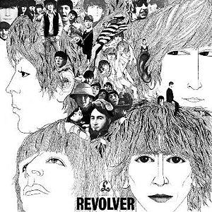 Pochette de Revolver, album des Beatles