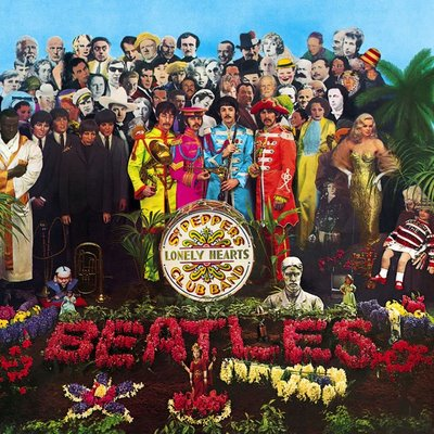 Pochette de Sgt. Pepper`s Lonely Hearts Club Band