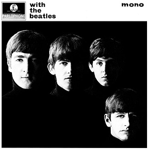 With The Beatles, pochette